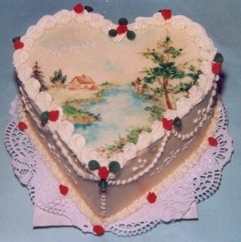 Ve tvaru srdce | Cukrárna Karamel - svatební dorty, slavnostní ...